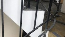 After photo of balustrade rectification. FSC raised balustrade and install new bottom rail.